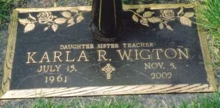 WIGTON, KARLA R. - Polk County, Iowa | KARLA R. WIGTON