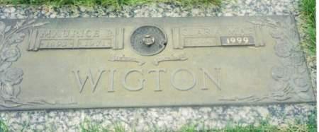 WIGTON, CLARA MAE - Polk County, Iowa | CLARA MAE WIGTON