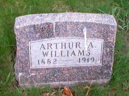 WILLIAMS, ARTHUR A. - Polk County, Iowa | ARTHUR A. WILLIAMS