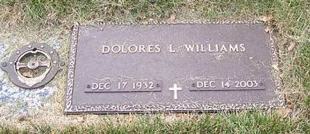 WILLIAMS, DOLORES L. - Polk County, Iowa | DOLORES L. WILLIAMS