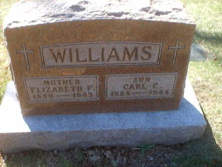 WILLIAMS, ELIZABETH - Polk County, Iowa | ELIZABETH WILLIAMS
