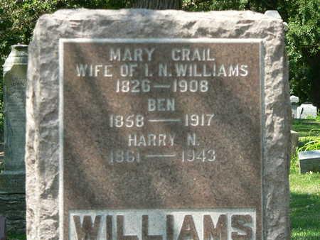 WILLIAMS, MARY - Polk County, Iowa | MARY WILLIAMS