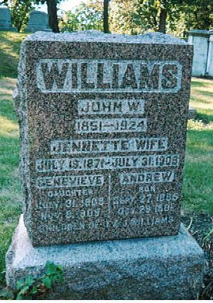 WILLIAMS, JOHN  W. - Polk County, Iowa | JOHN  W. WILLIAMS