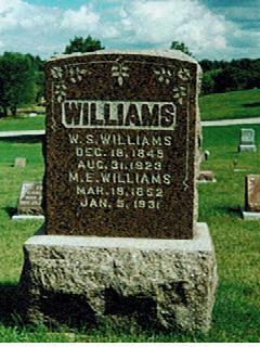 WILLIAMS, W.S. - Polk County, Iowa | W.S. WILLIAMS