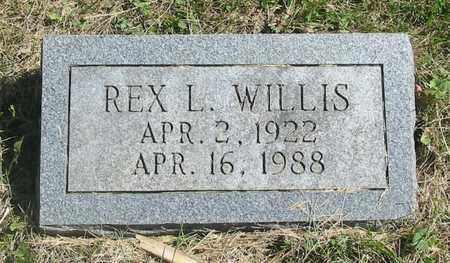 WILLIS, REX L. - Polk County, Iowa | REX L. WILLIS