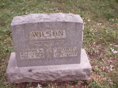 WILSON, NELLIE I. - Polk County, Iowa | NELLIE I. WILSON