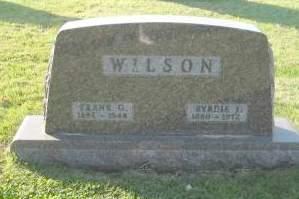 WILSON, BYRDIE - Polk County, Iowa   BYRDIE WILSON