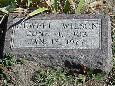 WILSON, JEWELL - Polk County, Iowa | JEWELL WILSON