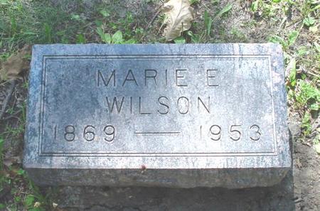WILSON, MARIE ELIZABETH - Polk County, Iowa | MARIE ELIZABETH WILSON