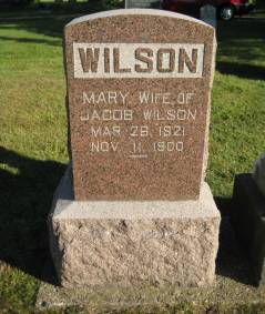WILSON, MARY - Polk County, Iowa   MARY WILSON