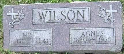 WILSON, AGNES - Polk County, Iowa | AGNES WILSON