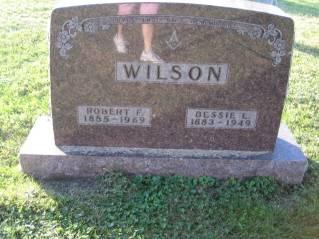 WILSON, BESSIE - Polk County, Iowa   BESSIE WILSON