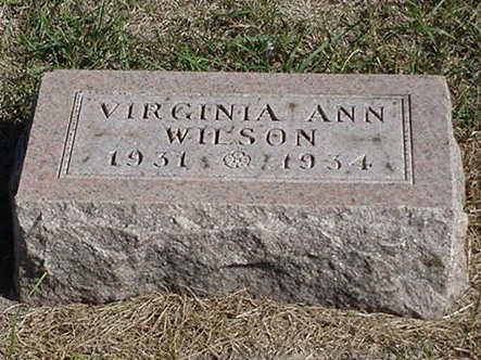 WILSON, VIRGINIA ANN - Polk County, Iowa | VIRGINIA ANN WILSON