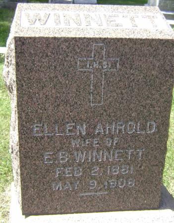 AHROLD WINNETT, ELLEN - Polk County, Iowa | ELLEN AHROLD WINNETT