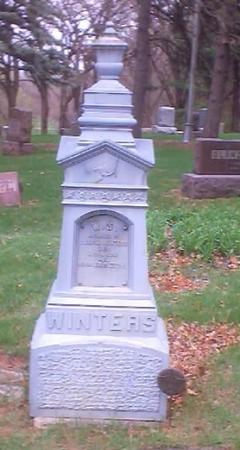 WINTERS, WILLIAM S. - Polk County, Iowa | WILLIAM S. WINTERS