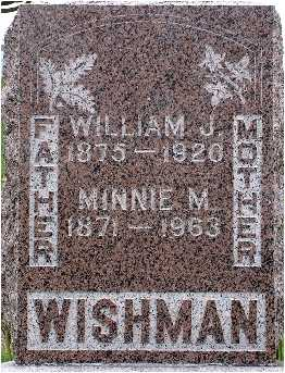 WISHMAN, WILLIAM J. - Polk County, Iowa | WILLIAM J. WISHMAN
