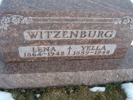 WITZENBURG, LENA - Polk County, Iowa   LENA WITZENBURG