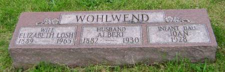 WOHLWEND, ALBERT - Polk County, Iowa | ALBERT WOHLWEND