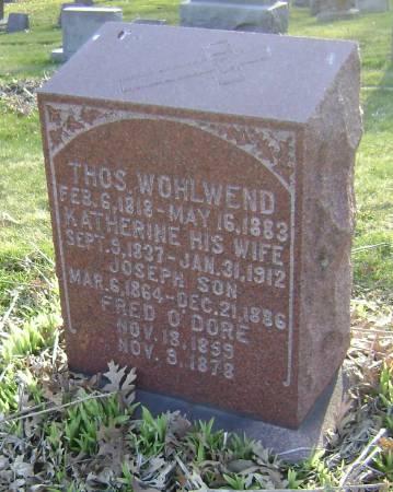 WOHLWEND, JOSEPH - Polk County, Iowa | JOSEPH WOHLWEND