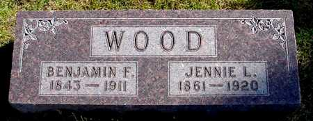 WOOD, BENJAMIN F. - Polk County, Iowa | BENJAMIN F. WOOD
