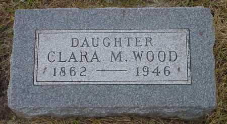 WOOD, CLARA M. - Polk County, Iowa | CLARA M. WOOD