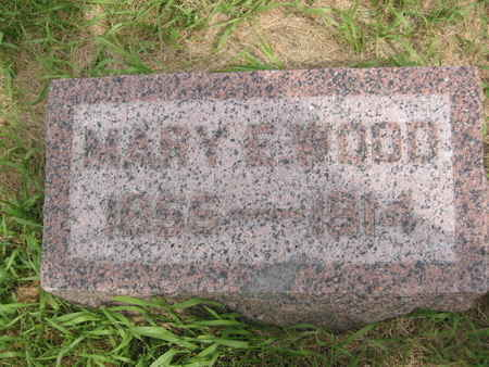 WOOD, MARY E. - Polk County, Iowa | MARY E. WOOD