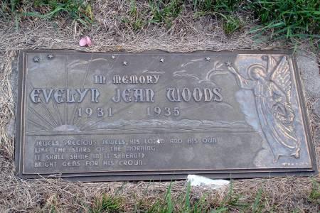 WOODS, EVELYN JEAN - Polk County, Iowa | EVELYN JEAN WOODS