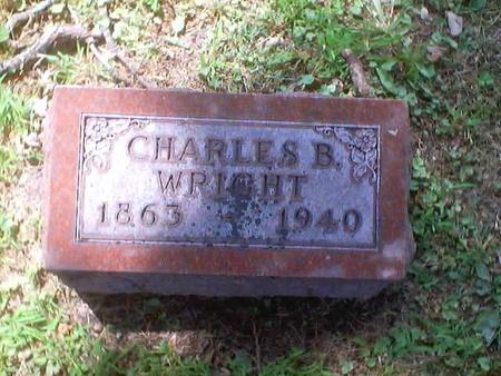 WRIGHT, CHARLES B. - Polk County, Iowa | CHARLES B. WRIGHT