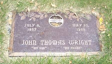 WRIGHT, JOHN THOMAS - Polk County, Iowa | JOHN THOMAS WRIGHT
