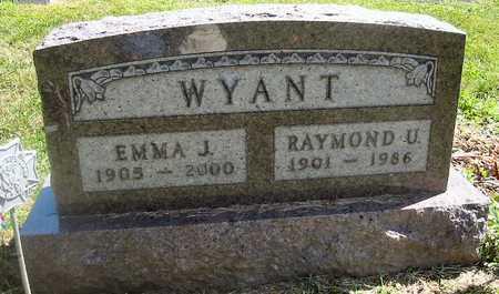 WYANT, EMMA J. - Polk County, Iowa | EMMA J. WYANT