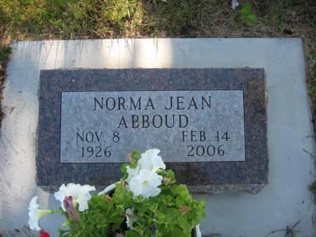 ABBOUD, NORMA JEAN - Pottawattamie County, Iowa   NORMA JEAN ABBOUD