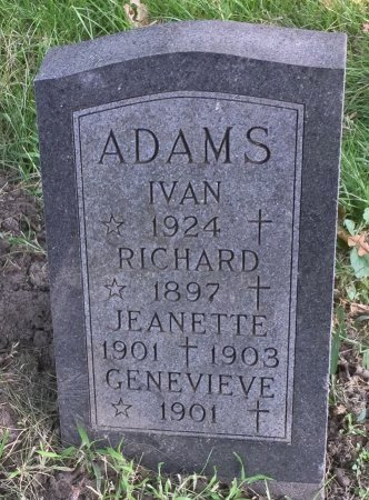 ADAMS, RICHARD - Pottawattamie County, Iowa | RICHARD ADAMS