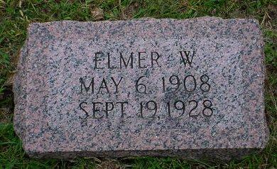 ALBRIGHT, ELMER W - Pottawattamie County, Iowa | ELMER W ALBRIGHT
