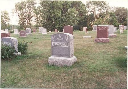ALEXANDER, HEADSTONE - Pottawattamie County, Iowa | HEADSTONE ALEXANDER