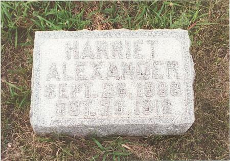 OSTROM ALEXANDER, HARRIET FRANCES - Pottawattamie County, Iowa | HARRIET FRANCES OSTROM ALEXANDER