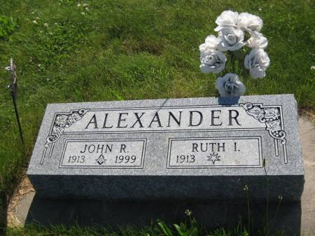 ALEXANDER, RUTH IRENE - Pottawattamie County, Iowa | RUTH IRENE ALEXANDER