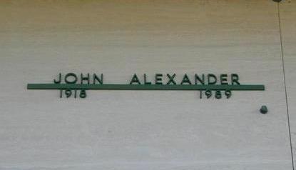 ALEXANDER, JOHN PERSHING - Pottawattamie County, Iowa | JOHN PERSHING ALEXANDER