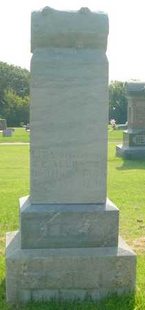 ALLBAUGH, LIDA J. - Pottawattamie County, Iowa   LIDA J. ALLBAUGH