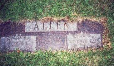 KAIN ALLEN, WINIFRED M. - Pottawattamie County, Iowa | WINIFRED M. KAIN ALLEN