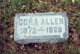 ALLEN, CORA - Pottawattamie County, Iowa | CORA ALLEN