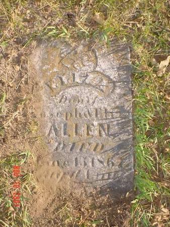 ALLEN, ELLA A. - Pottawattamie County, Iowa | ELLA A. ALLEN