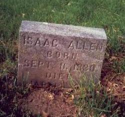 ALLEN, ISAAC - Pottawattamie County, Iowa | ISAAC ALLEN