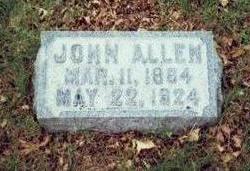 ALLEN, JOHN - Pottawattamie County, Iowa | JOHN ALLEN