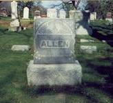 ALLEN, MARKER - Pottawattamie County, Iowa | MARKER ALLEN