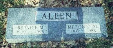 KING ALLEN, BERNICE MAXINE - Pottawattamie County, Iowa | BERNICE MAXINE KING ALLEN