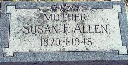 ALLEN, SUSAN F - Pottawattamie County, Iowa | SUSAN F ALLEN