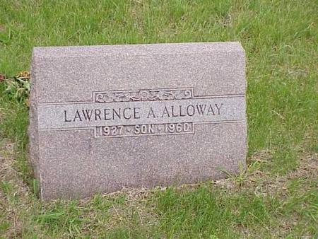 ALLOWAY, LAWRENCE A. - Pottawattamie County, Iowa | LAWRENCE A. ALLOWAY