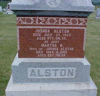 BICHENO ALSTON, MARTHA - Pottawattamie County, Iowa | MARTHA BICHENO ALSTON