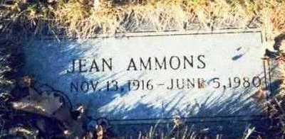 AMMONS, JEAN - Pottawattamie County, Iowa | JEAN AMMONS