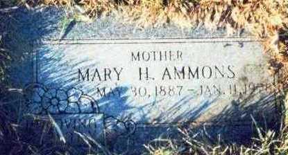 AMMONS, MARY H. - Pottawattamie County, Iowa   MARY H. AMMONS